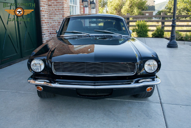 Patrick Dempsey 1965 Ford Mustang SVT front