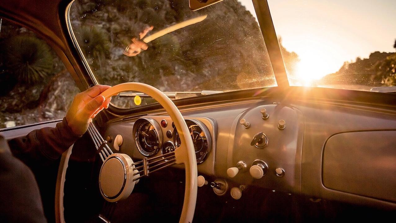 Porsche 356/2-063 steering wheel
