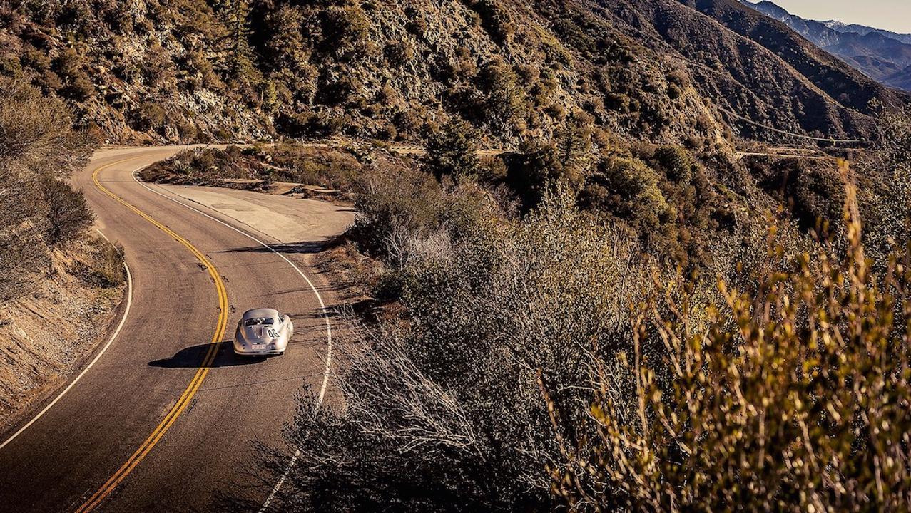 Porsche 356/2-063 in the valley