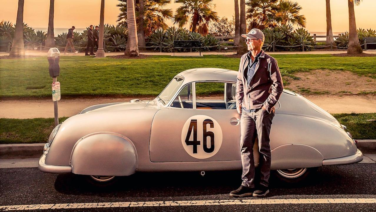 Cameron Healey and his Porsche 356/2-063