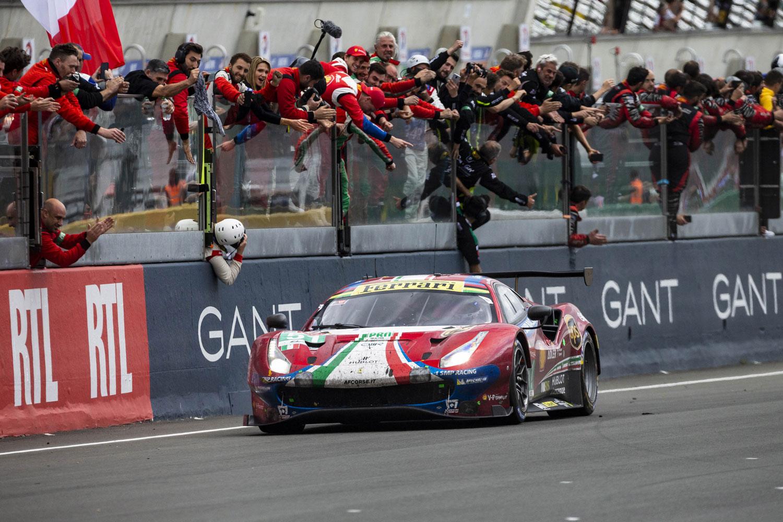 Toyota TS050 Hybrid at 2019 Le Mans