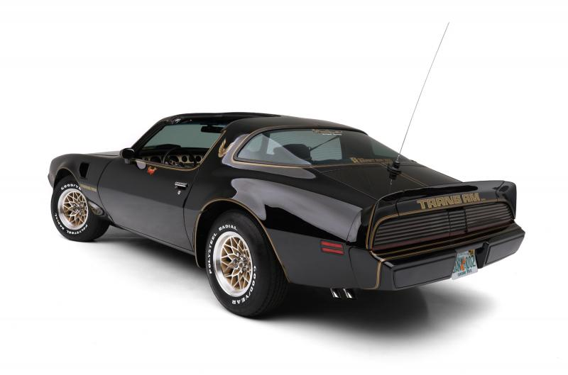 Burt Reynolds 1979 Pontiac Firebird Trans Am rear 3/4