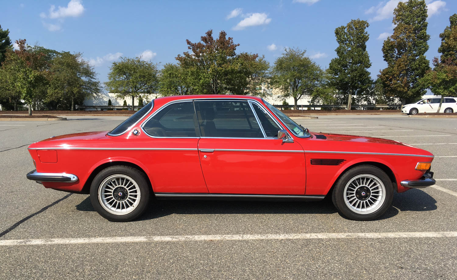 My '73 3.0CSi. Yes, of course I love it to death. Wouldn't anyone?
