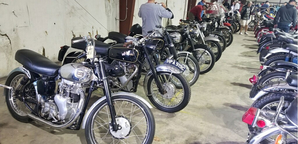 Motorcycles at VanDerBrink Auction