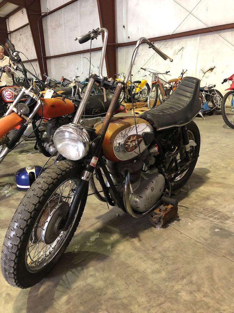 Motorcycle at VanDerBrink Auction