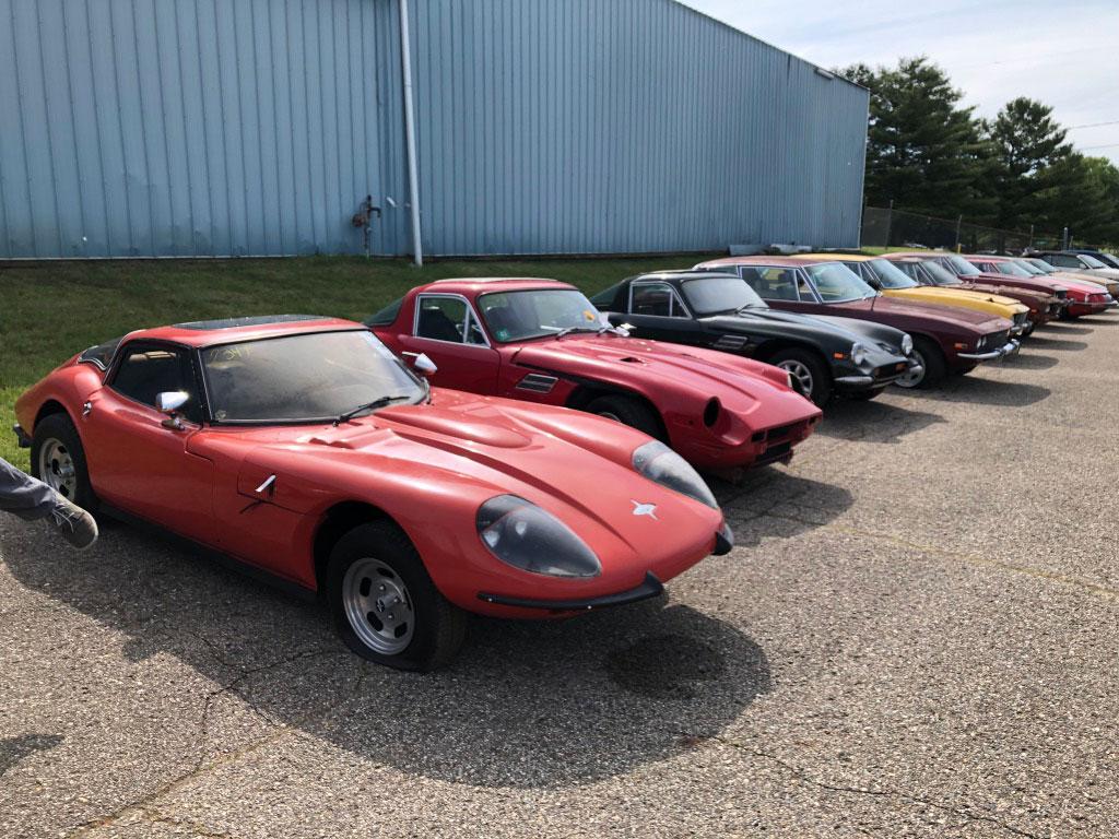 Cars at VanDerBrink Auction