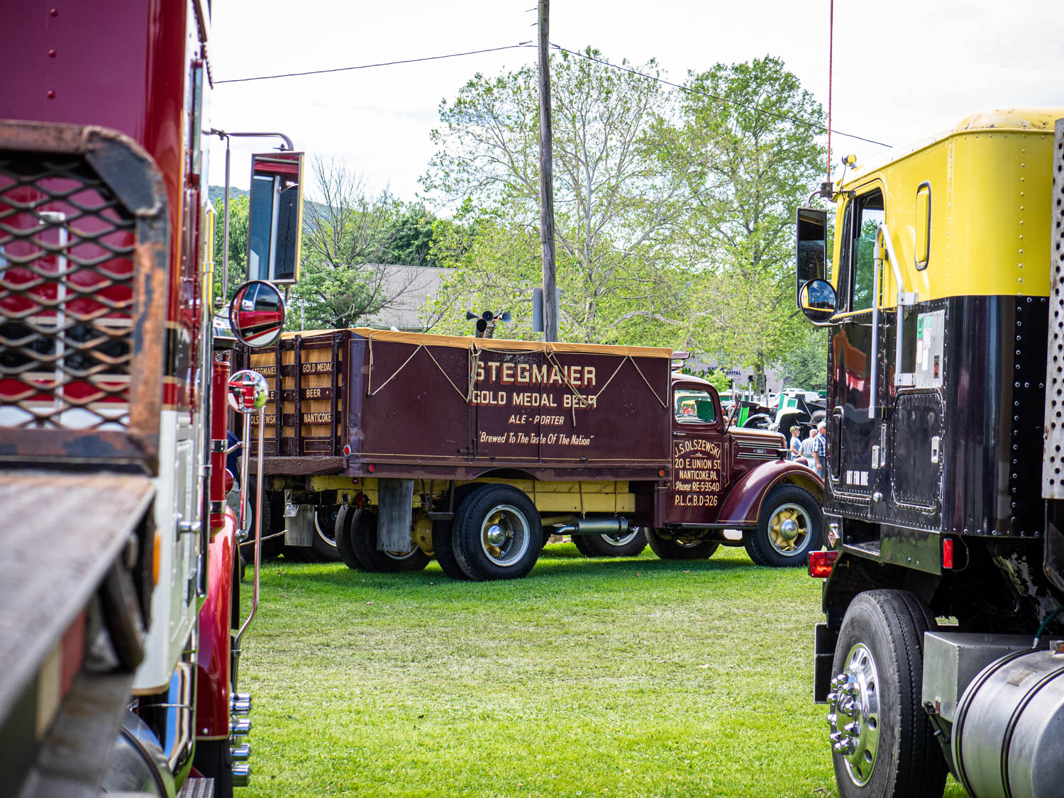 Only one trophy is handed out at the ATCA National Meet: The Director's Award. This year's winner was a 1948 Mack EG, an all-original beer delivery truck still wearing its Stegmaier Beer livery.