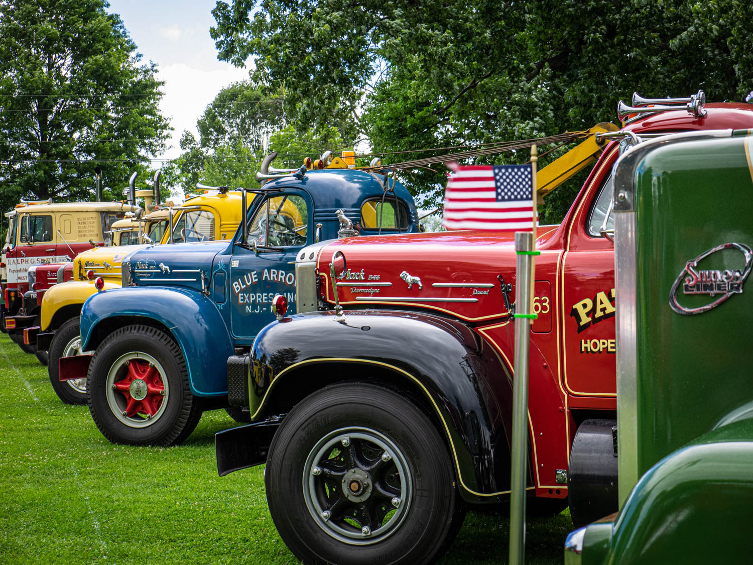 The greatest truckin' show on earth has more than 850 big rigs