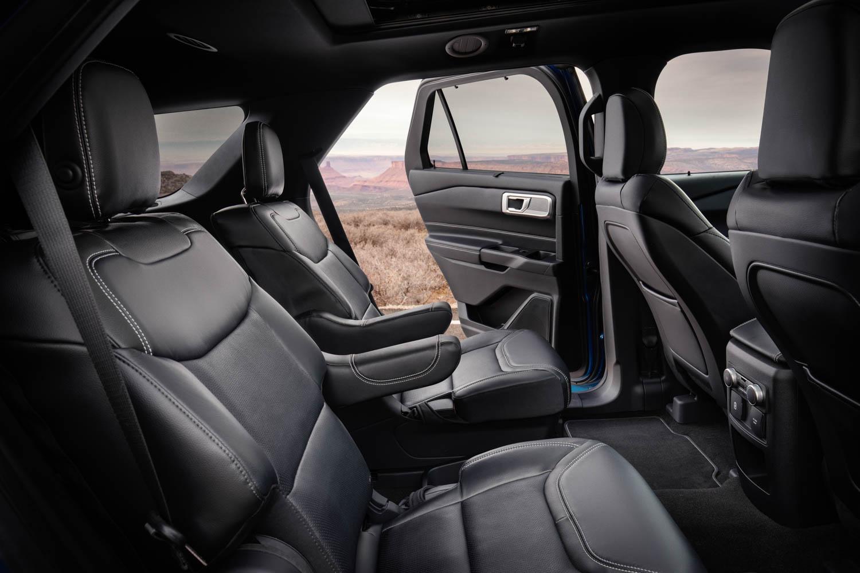 2020 Ford Explorer ST back seat