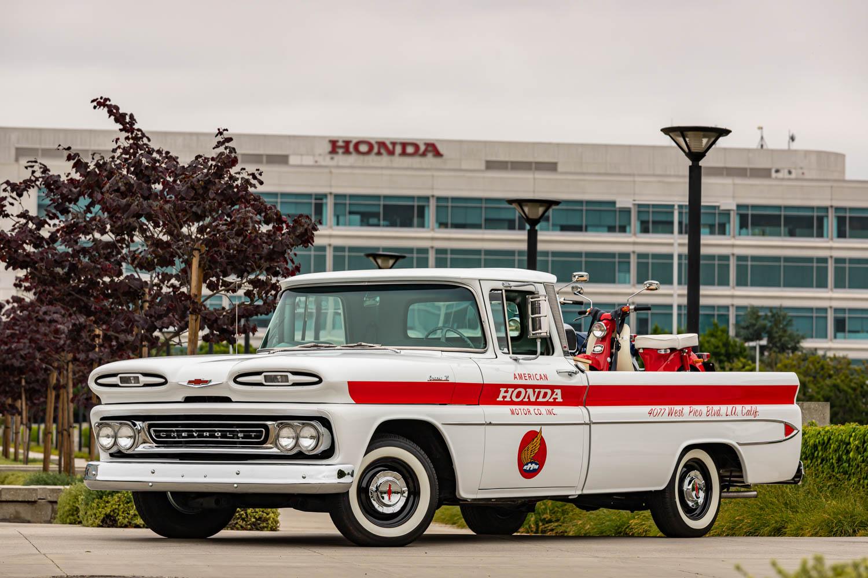 Honda restores 1961 Chevy pickup to celebrate 60 years in America
