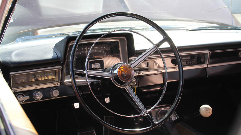 '65 Plymouth Sport Fury Interior