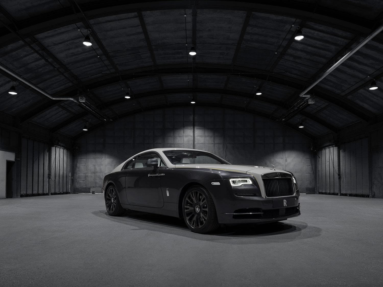 Rolls-Royce Wraith Eagle VIII prepares to fly