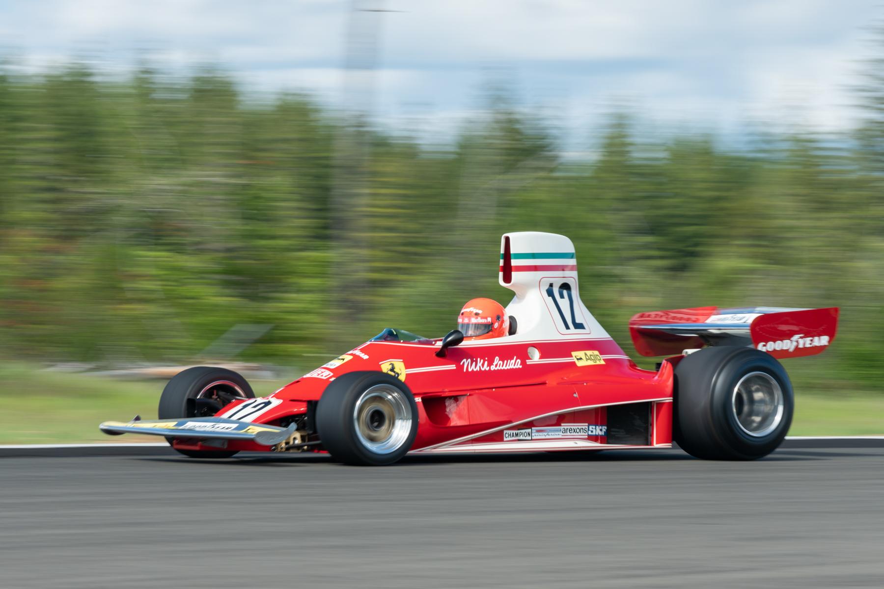 1975 Ferrari 312T racing