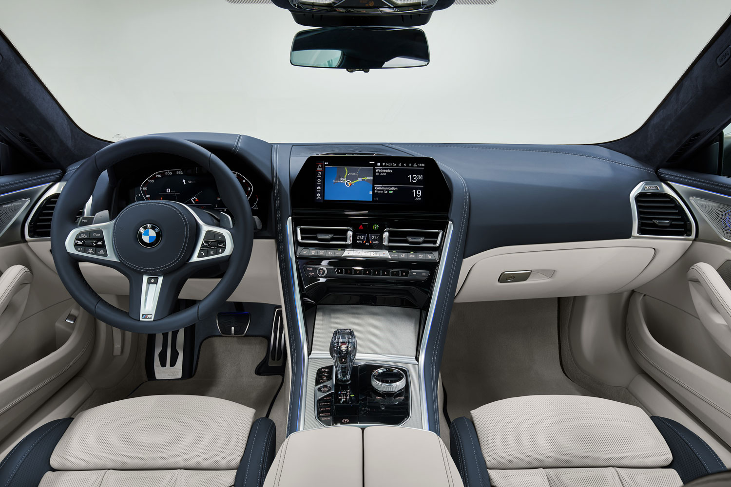 2020 BMW 8 Series Gran Coupe Interior