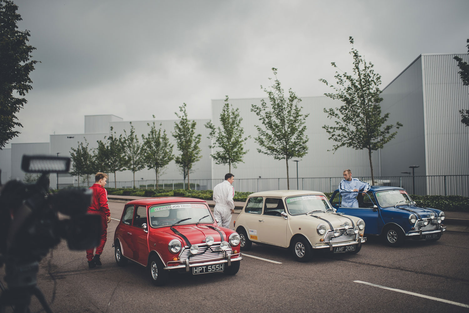 BMW Mini Italian Job Charity Event