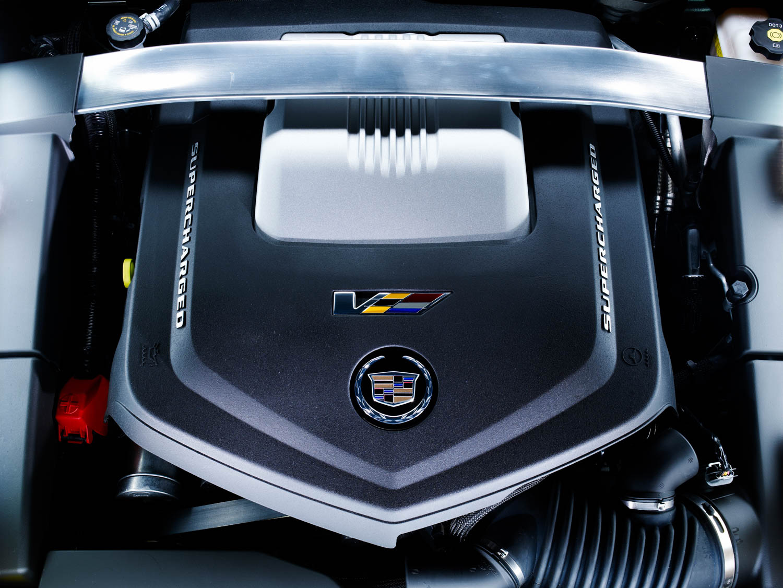 2013 Cadillac CTS-V engine