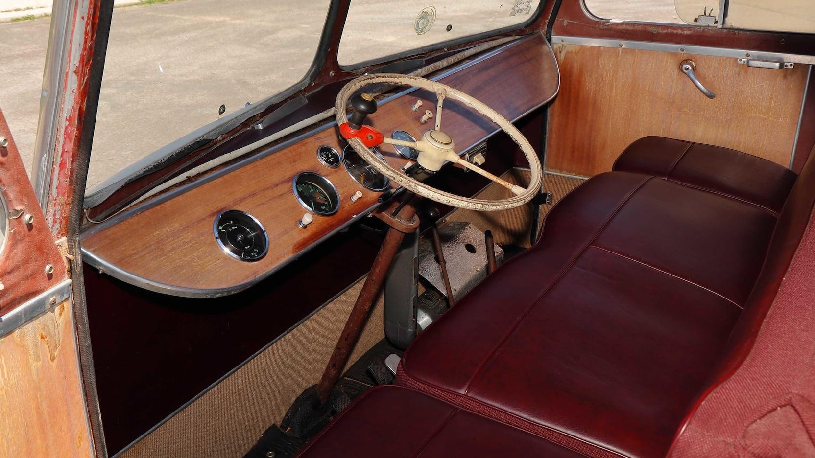 1955 Porsche Tempo Mikafa Sport Camper interior