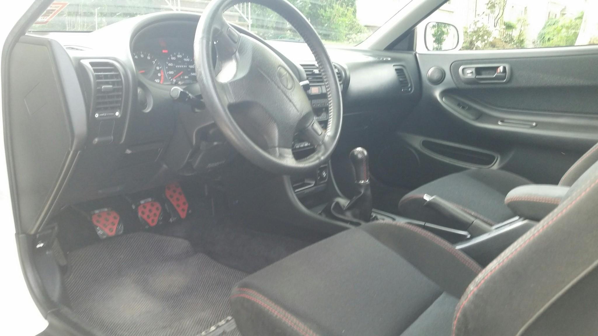 1998 Acura Integra Type R interior