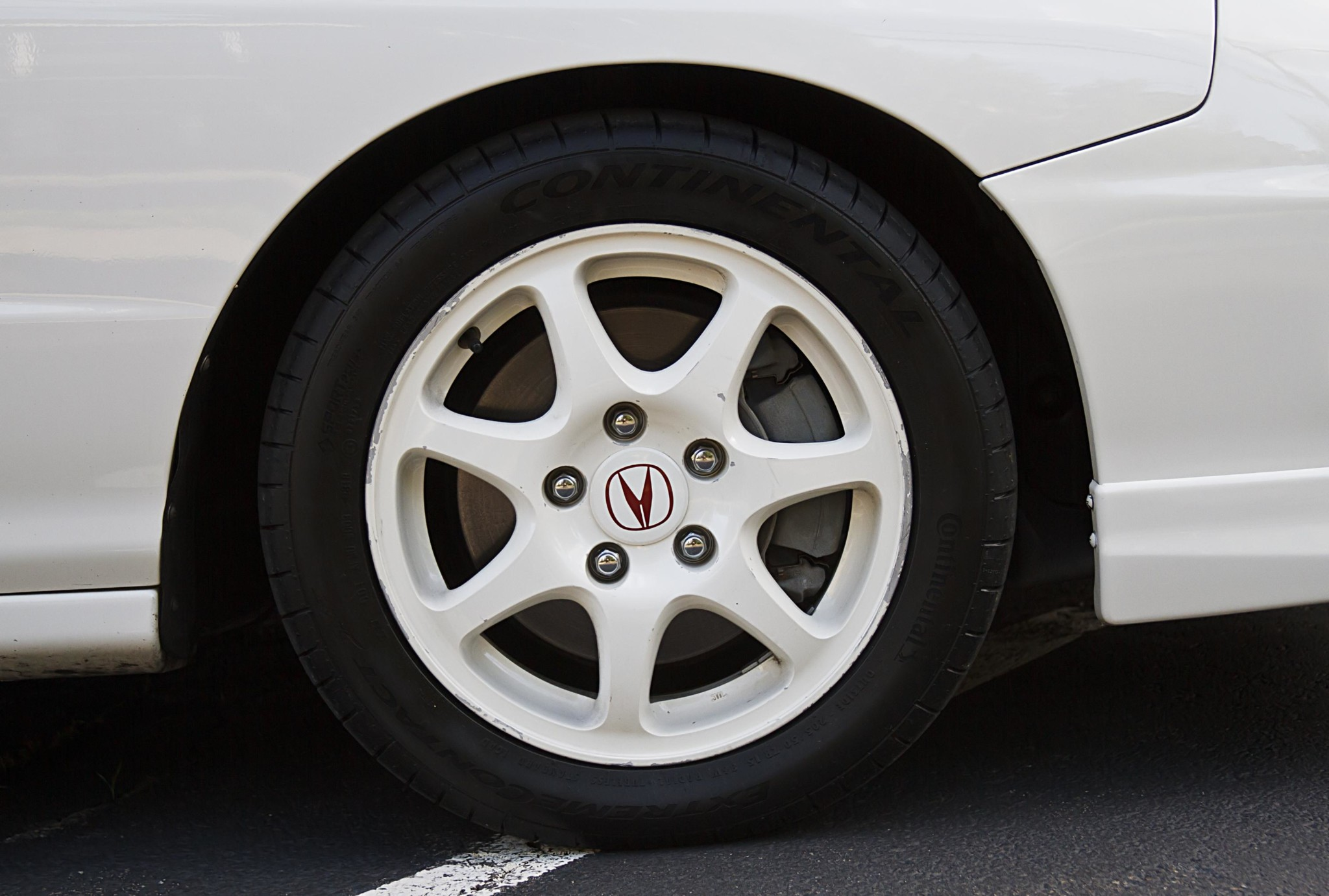 1998 Acura Integra Type R wheel detail