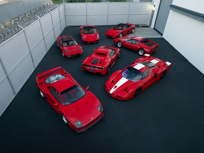 This outrageous Ferrari collection is a bedroom poster set come to life thumbnail