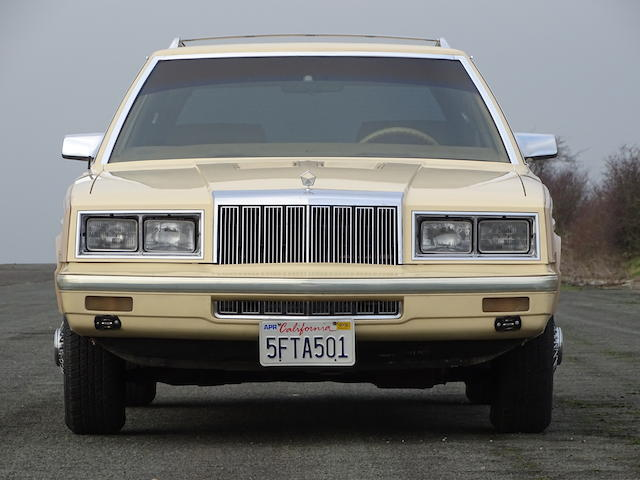 Sinatra's 1985 Chrysler LeBaron Town & Country taking another spin thumbnail