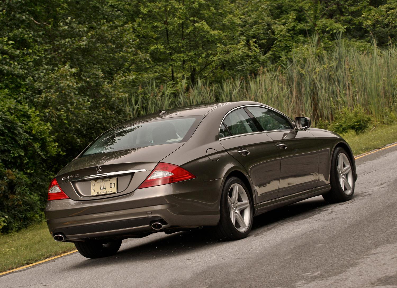2009 Mercedes-Benz CLS550 rear 3/4