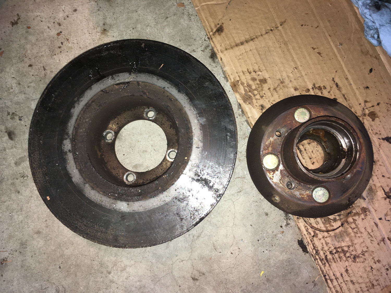 rotor and hub