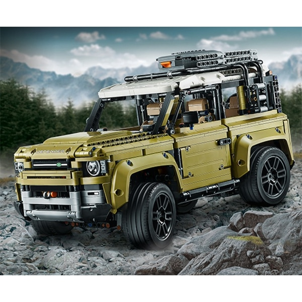 Next Land Rover Defender spied without camo, as a LEGO model thumbnail