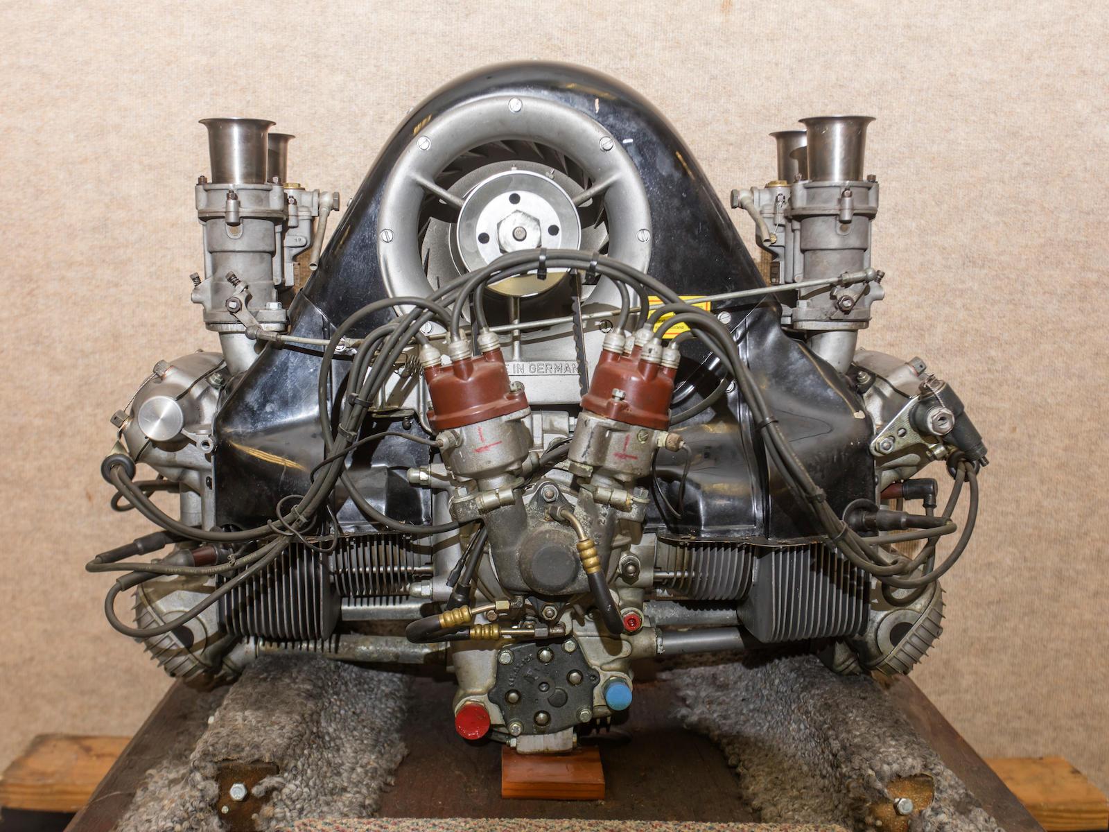 1959 Porsche 718 RSK engine