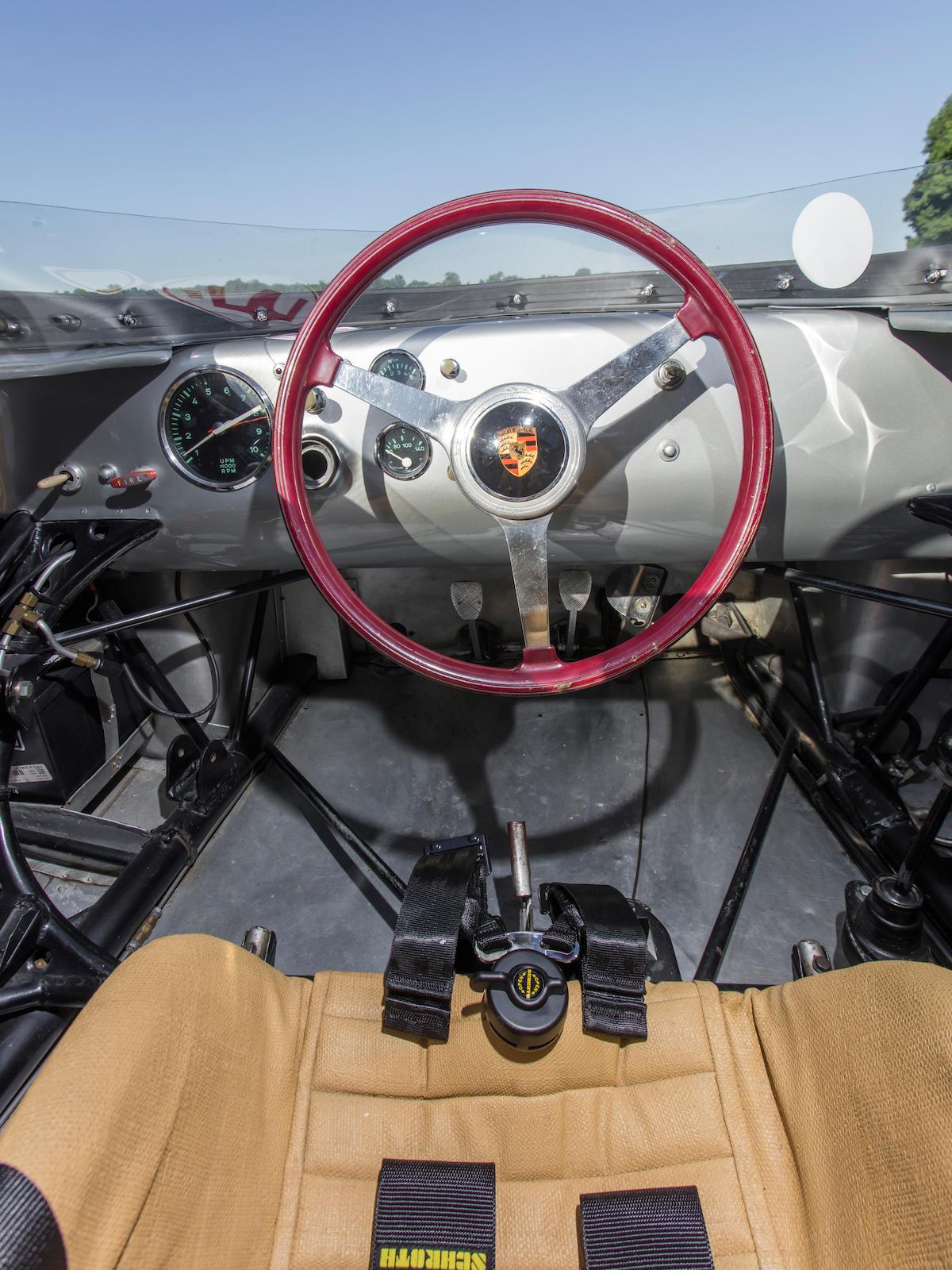 1959 Porsche 718 RSK interior
