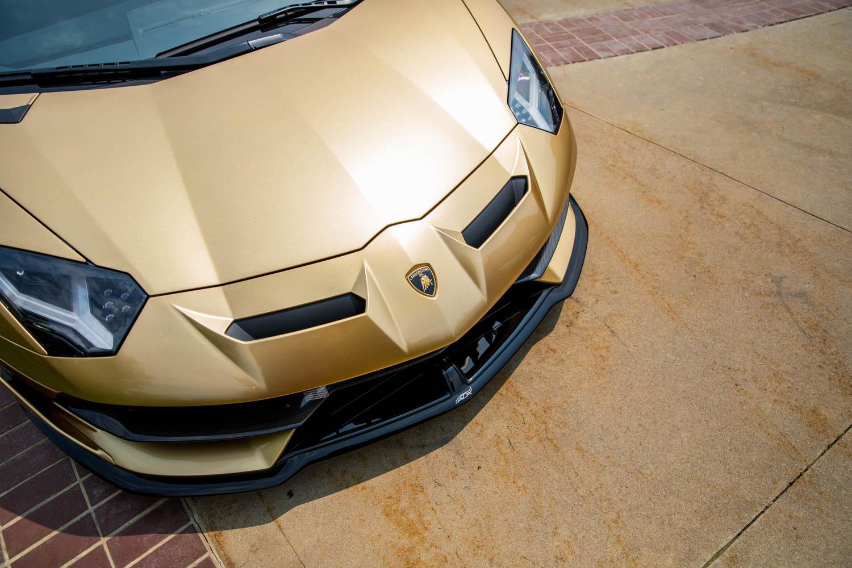 Lamborghini Aventador SV nose