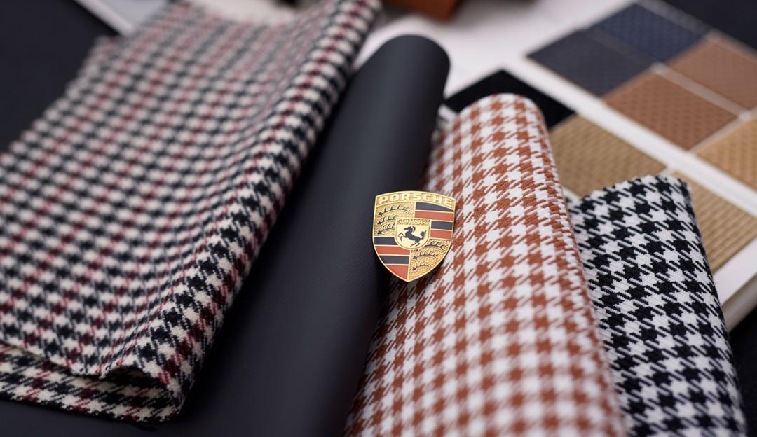 Porsche seats fabric
