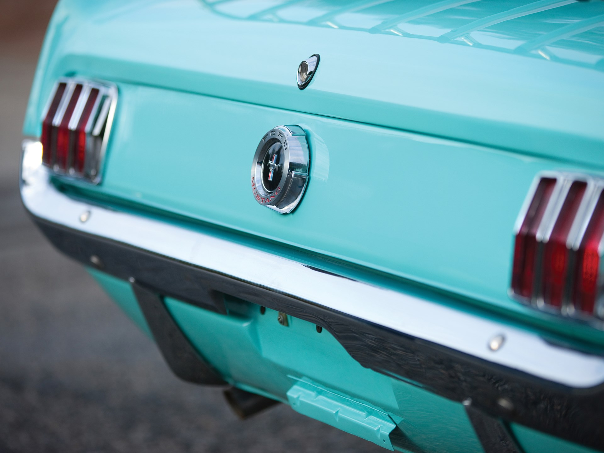 1965 Ford Mustang Detail