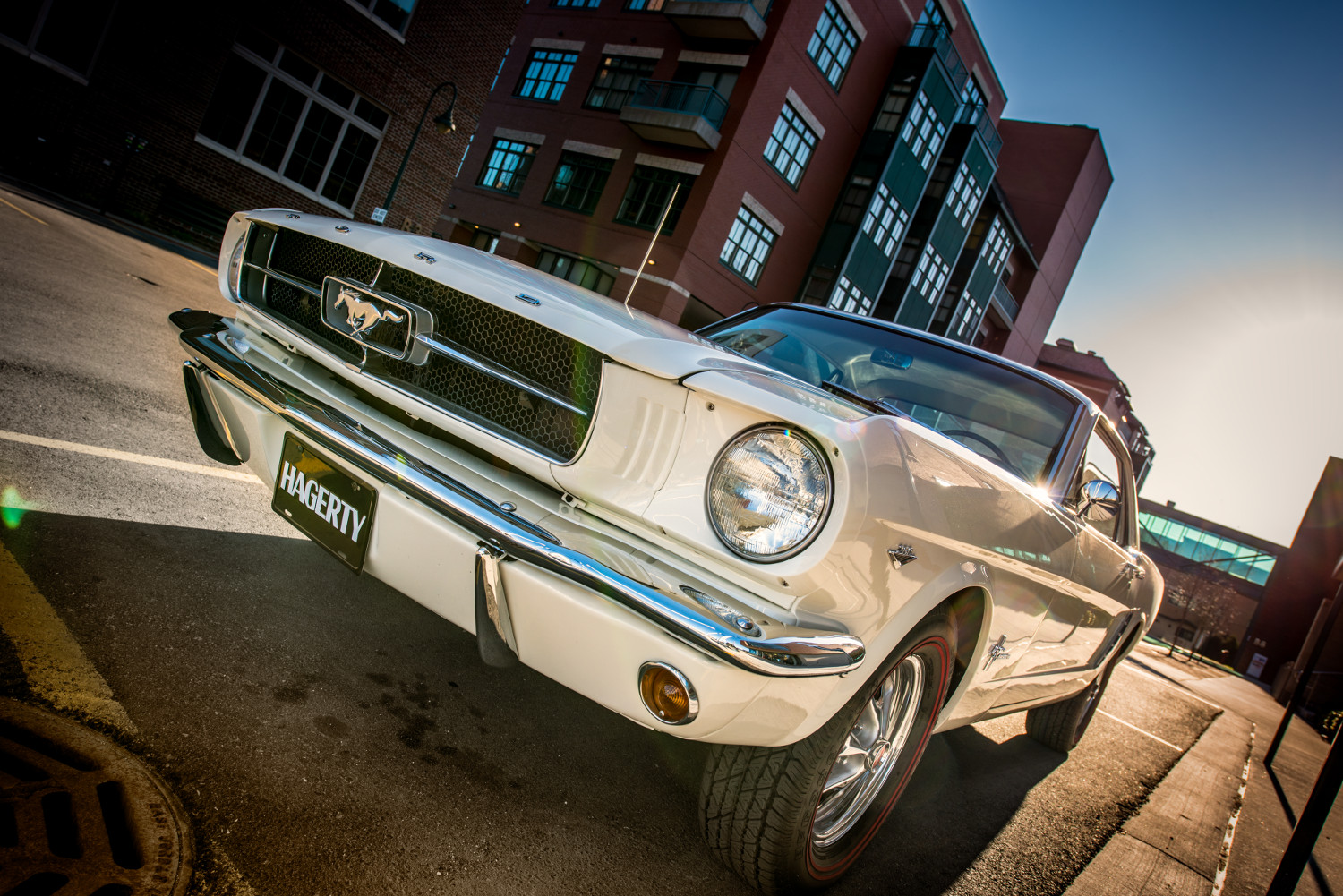 1965 Ford Mustang low front 3/4