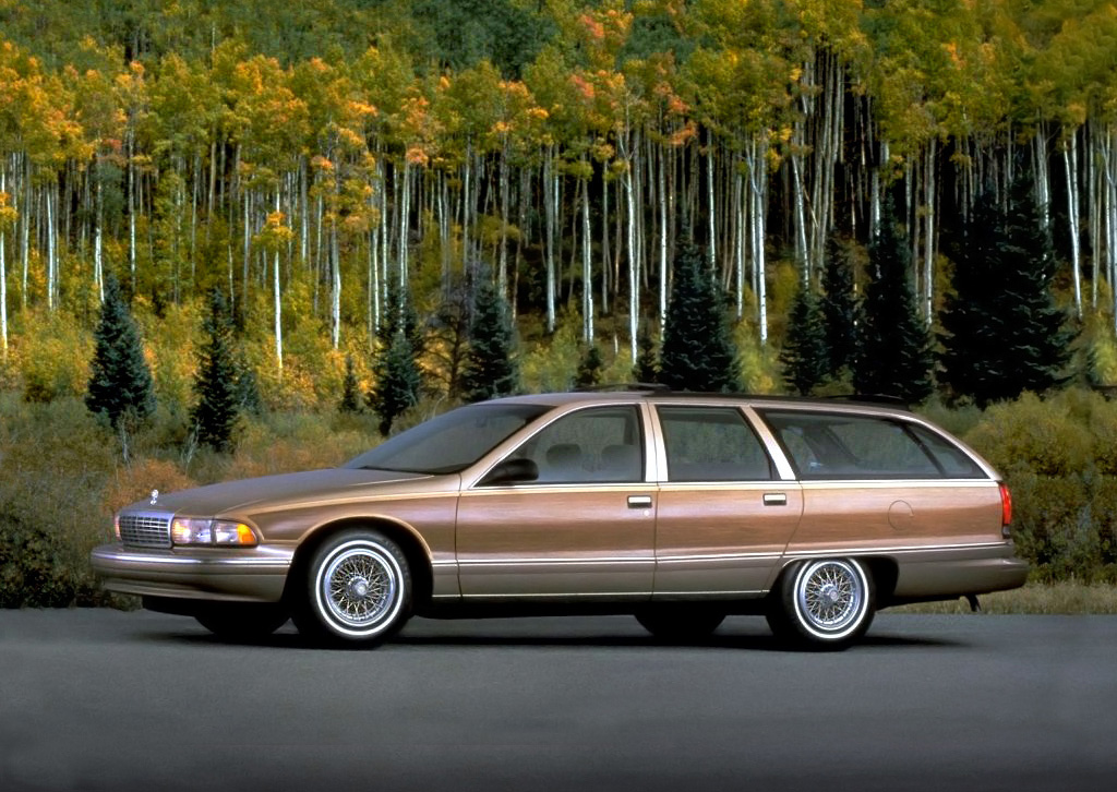 1991 Chevrolet Caprice profile