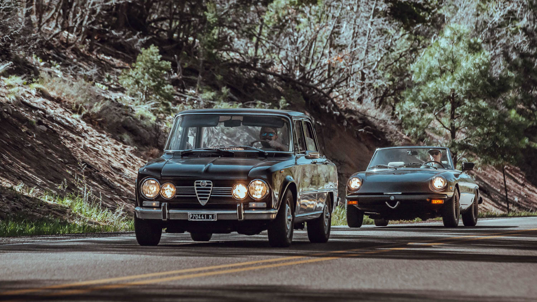 1972 Alfa Romeo Giuila Super 1978 Alfa Romeo Spider