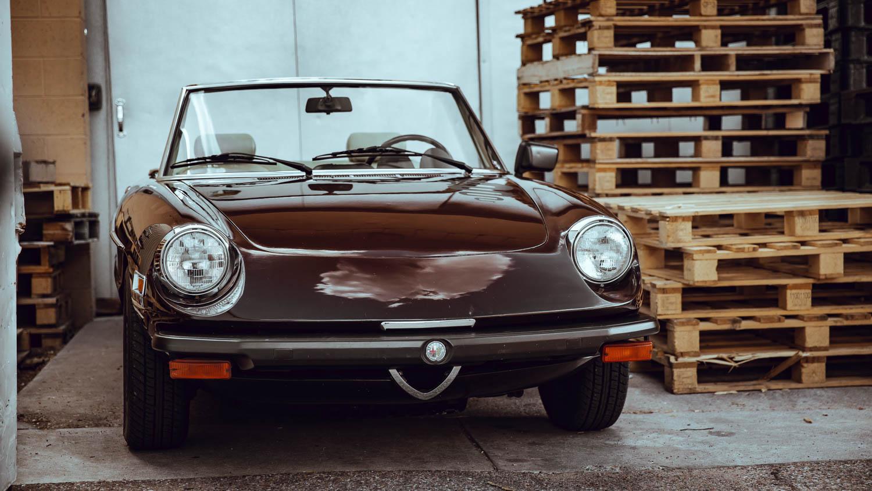 1978 Alfa Romeo Spider front