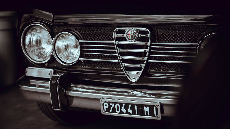 1972 Alfa Romeo Giuila Super nose