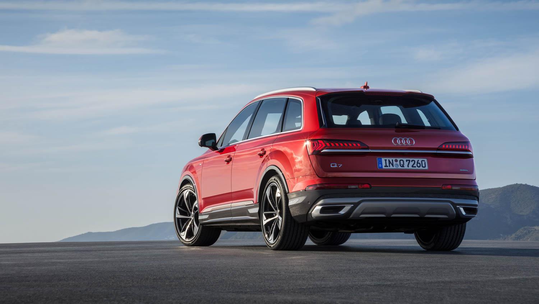 Audi Q7 rear 3/4