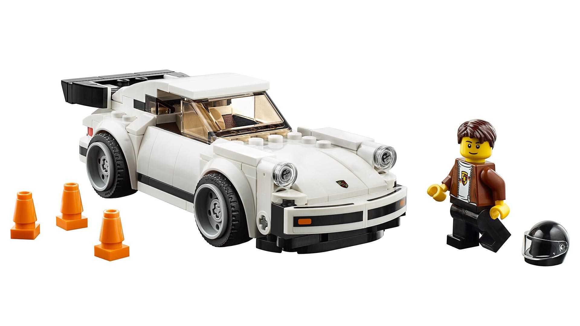 1974 Porsche 911 Turbo 3.0 Lego Set