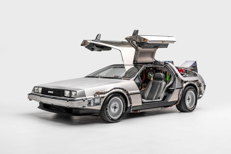 DeLorean Time Machine Back to the Future