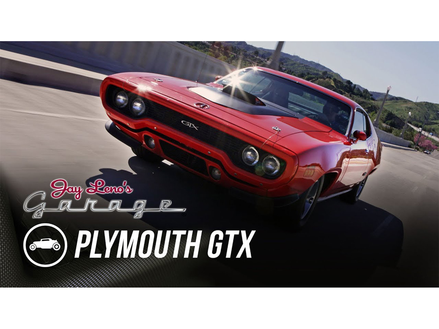 Jay Leno gets philosophical in a 1971 Plymouth GTX thumbnail