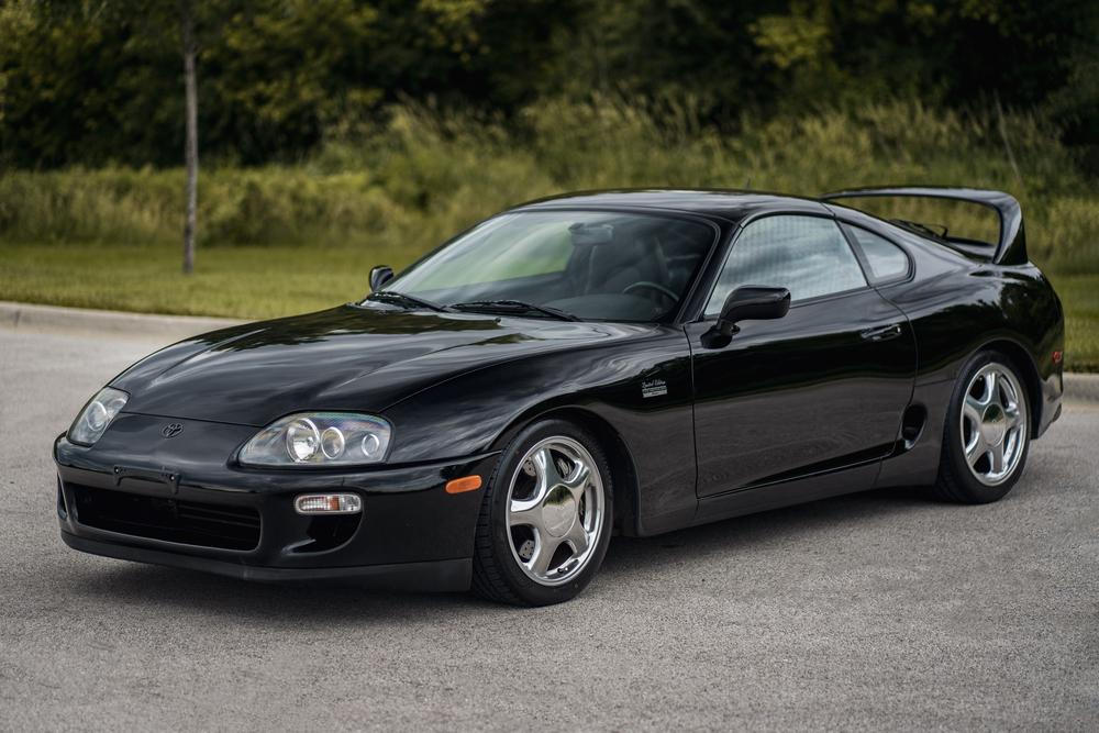 1997 Toyota Supra fetches $176K at Barrett-Jackson thumbnail