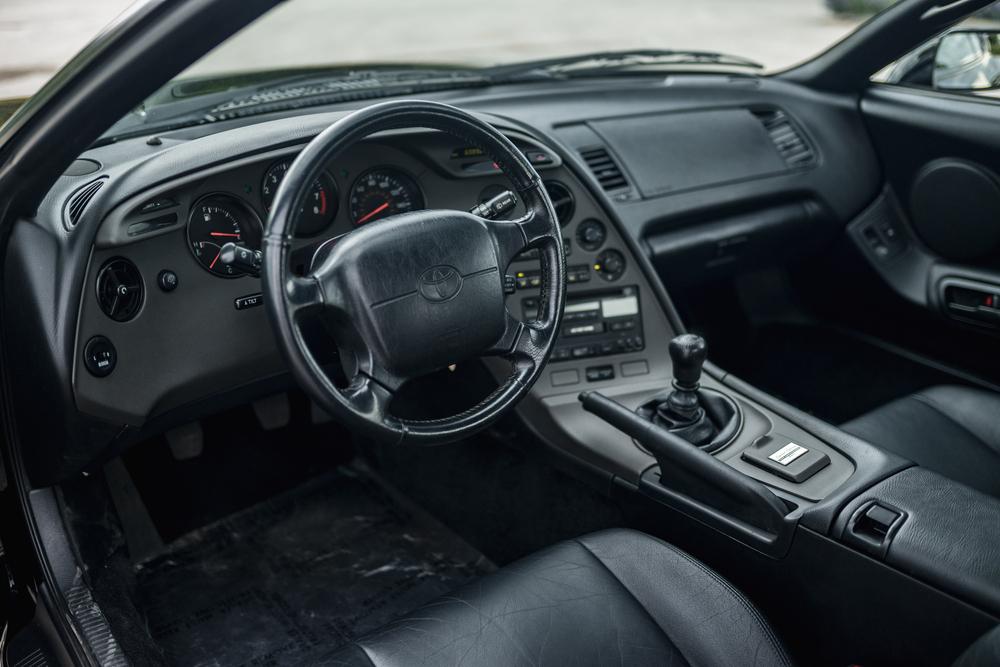 1997 Toyota Supra Anniversary Edition interior
