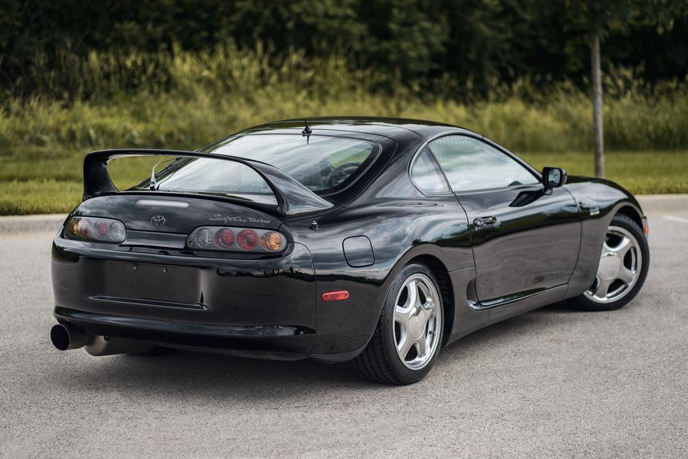 1997 Toyota Supra Anniversary Edition rear 3/4