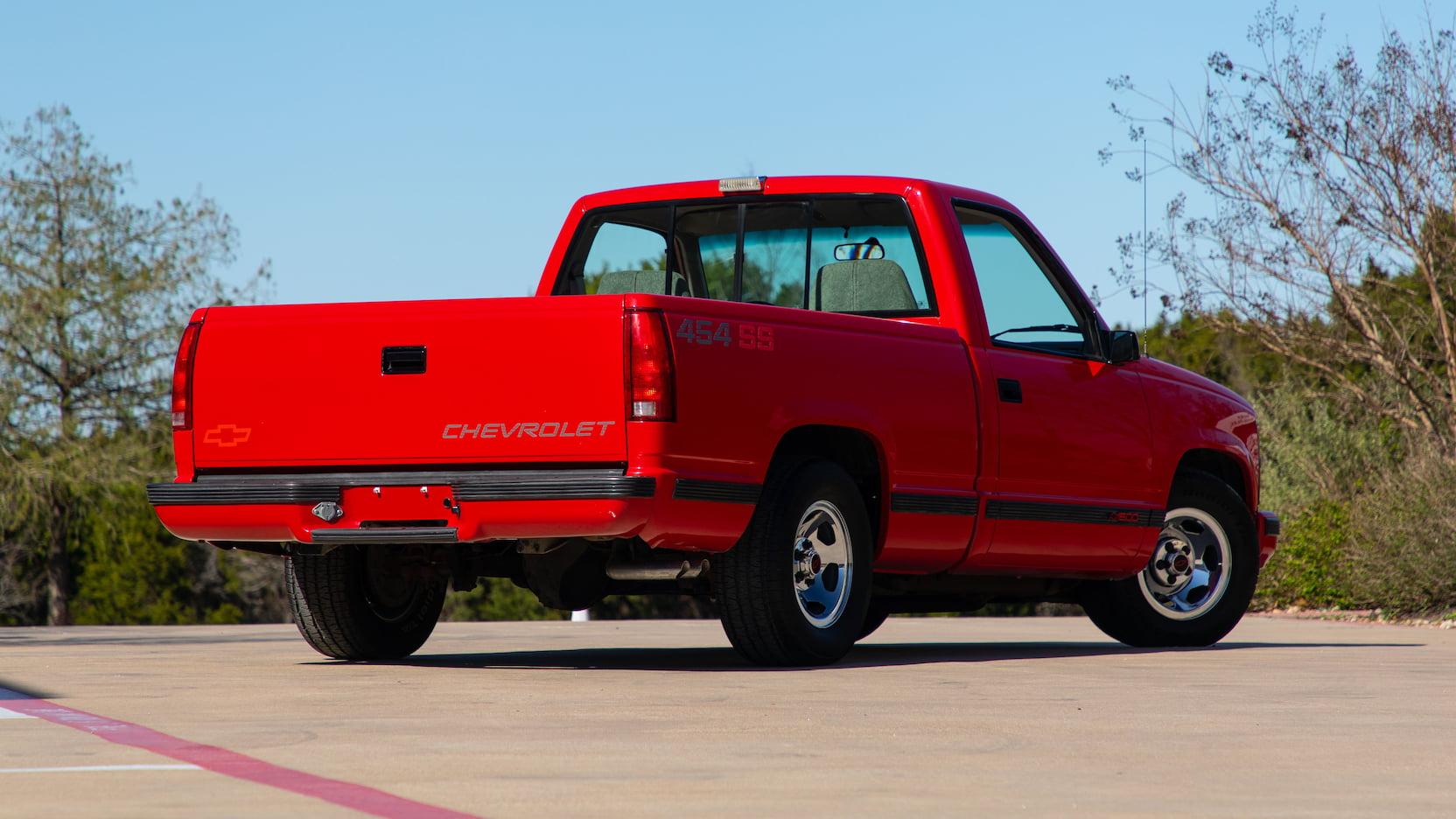 1993 Chevrolet 454 SS rear 3/4