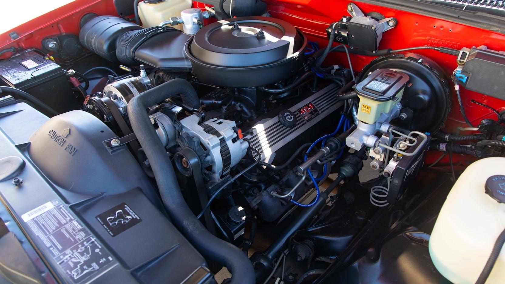 1993 Chevrolet 454 SS engine