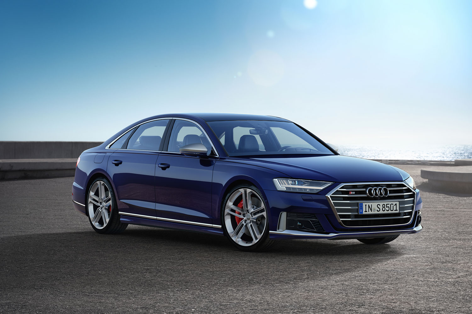 2020 Audi S8 is a 563-hp autobahn missile thumbnail