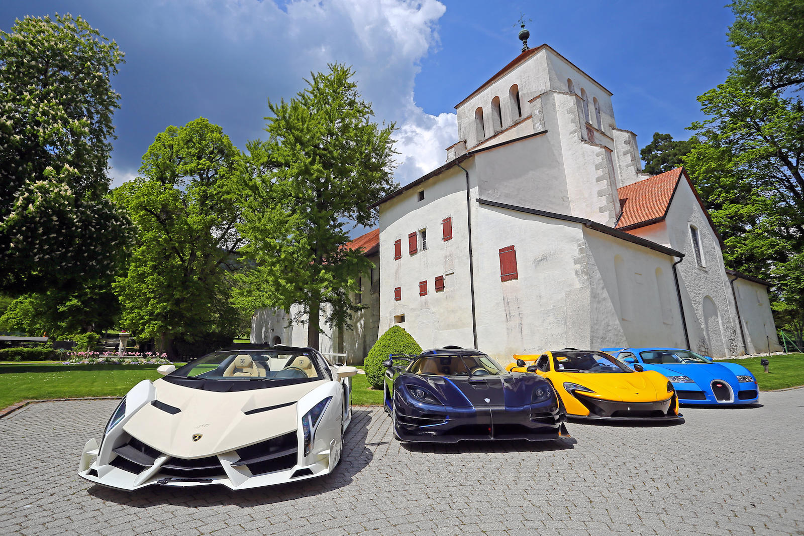 $13M supercar collection, seized by Swiss government, is headed to public auction thumbnail