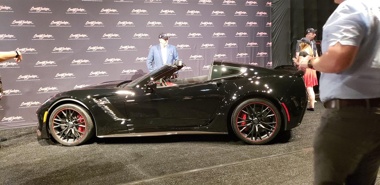 C7 Corvette Auction